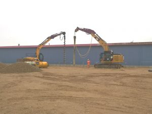 Development of an Industrial unit in Havant