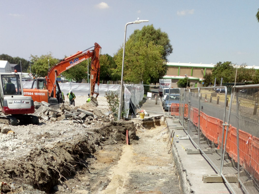 industrial unit construction in Aylesford